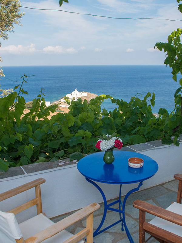 Balcony with views, Sifnos