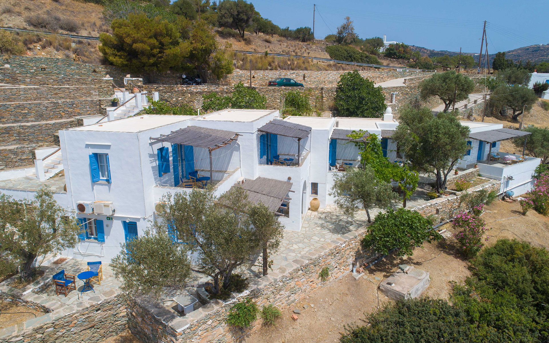 Roubina accommodation in Sifnos