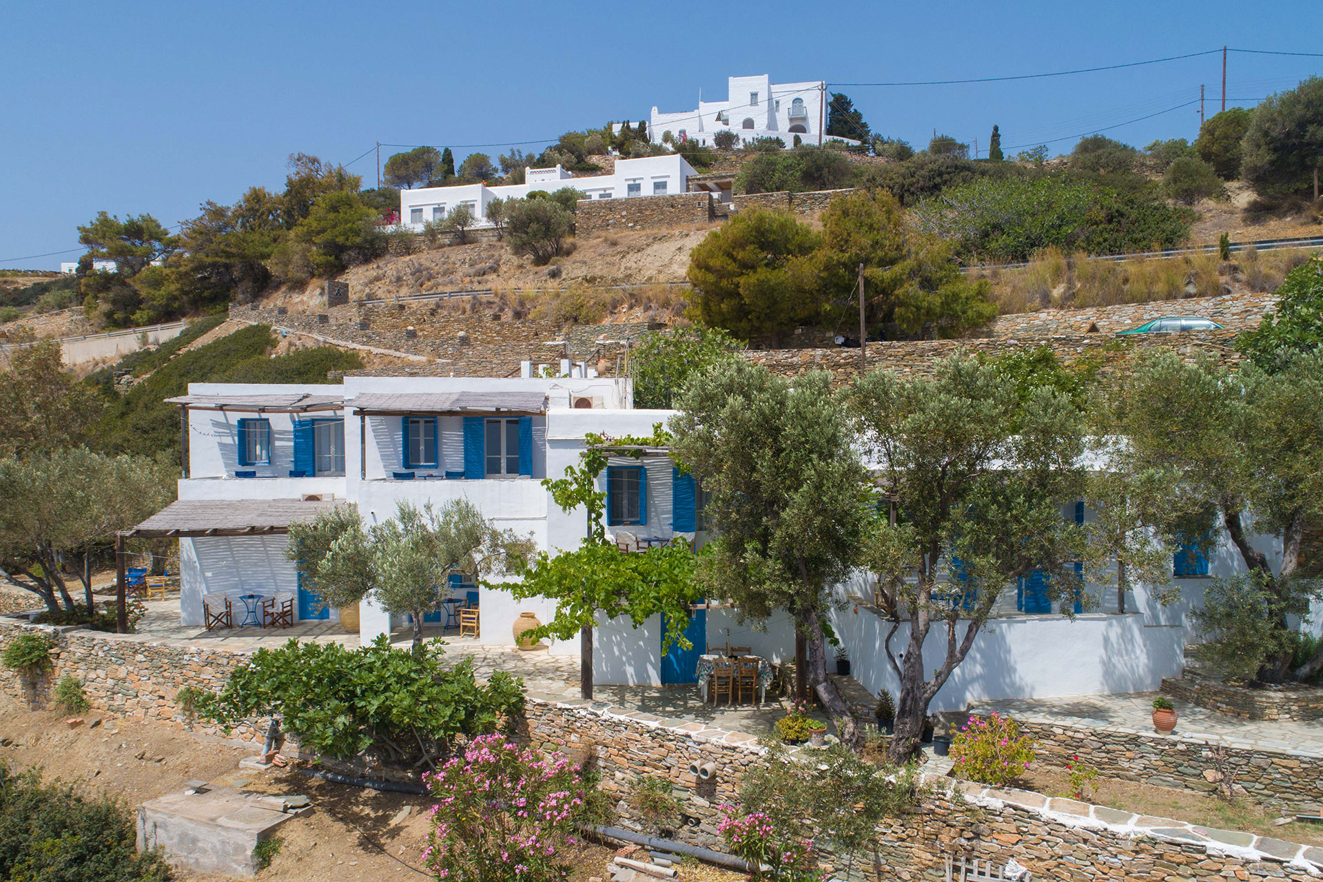 Rooms and apartments Roubina in Sifnos